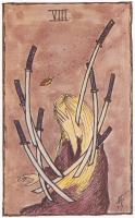 Sample of Alexis Gilliland's fan art, 1977