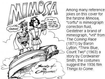 Stu Shiffman Mimosa #12 cover, 1992