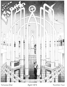 Ross Chamberlain's art for Fangle 2 cover